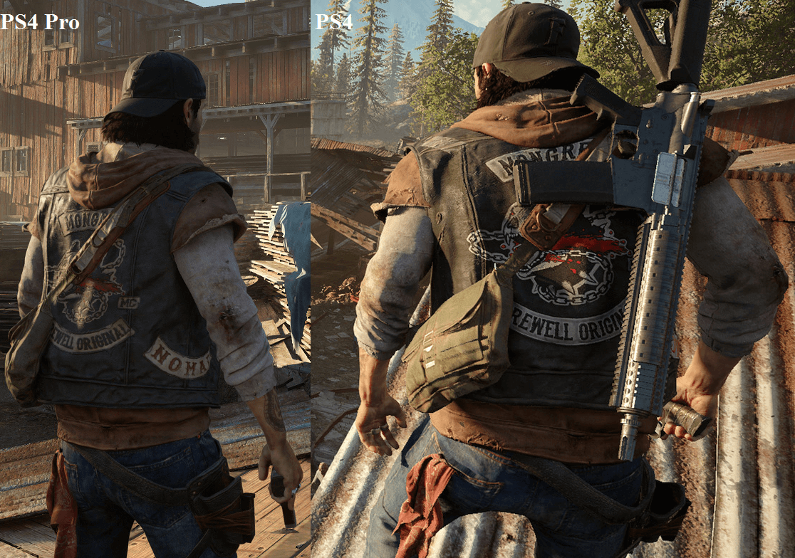 Days Gone - PS4 vs. PS4 Pro
