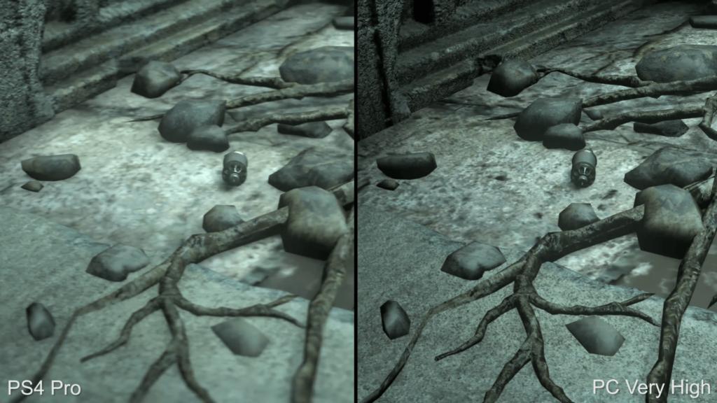 Rise of the Tomb Raider: PS4 Pro vs PC 4K