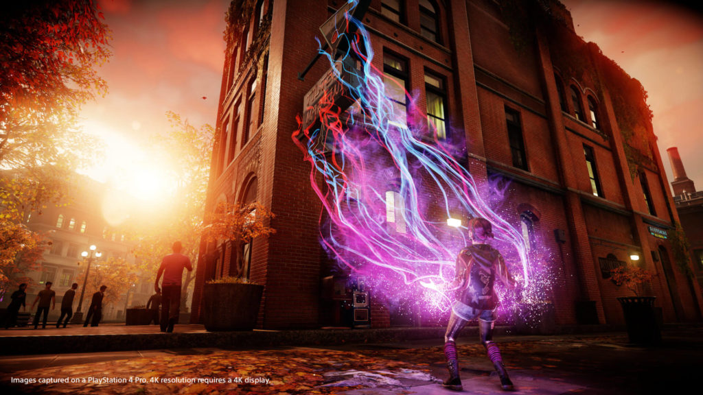 Infamous: First Light på PS4 Pro - Billede 1