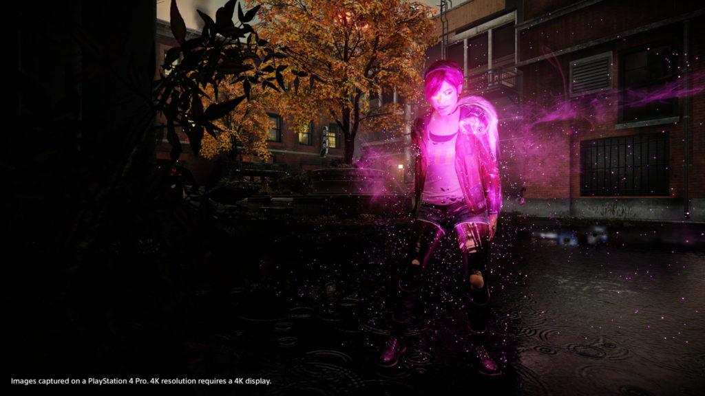 Infamous: First Light på PS4 Pro - Billede 3