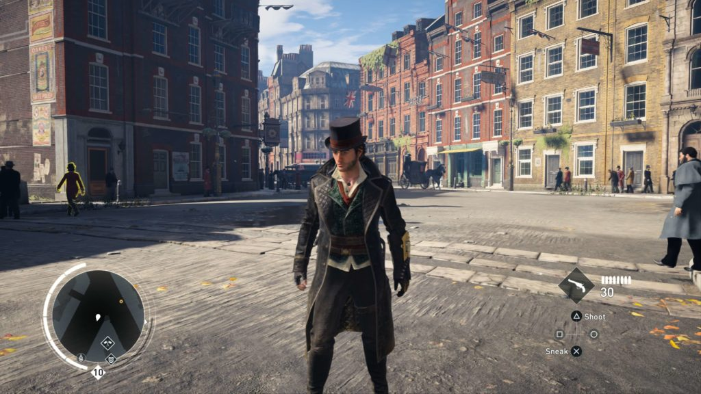 Assassin's Creed: Syndicate på PS4 Pro i 4K