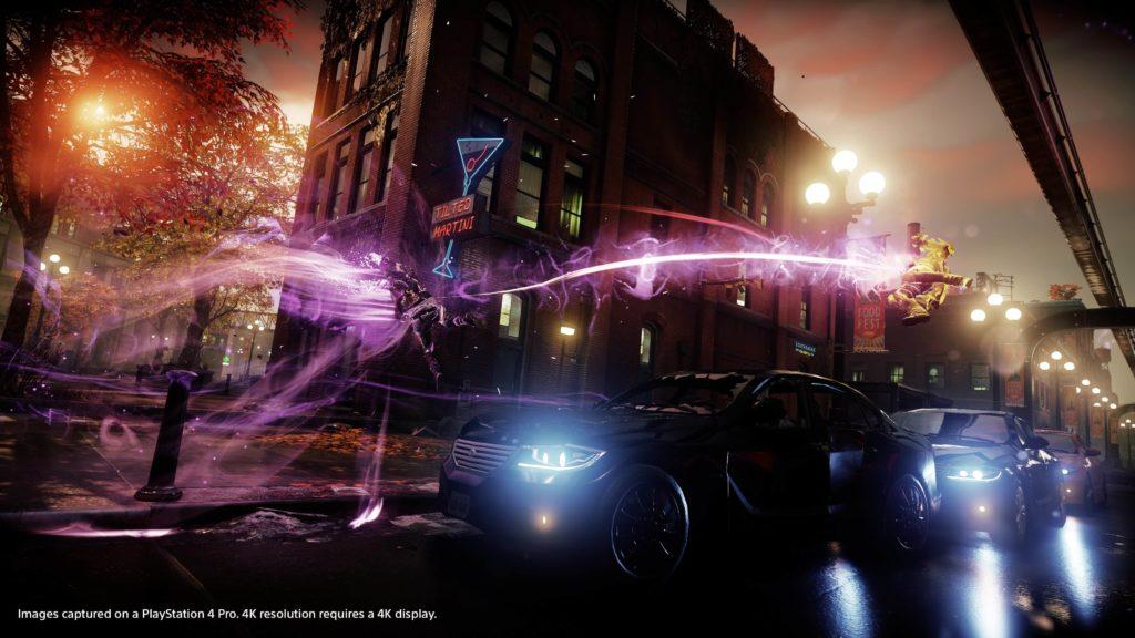 inFAMOUS PS4 Pro 4K HDR - 5