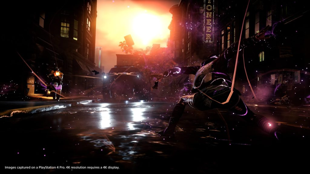 inFAMOUS PS4 Pro 4K HDR - 7