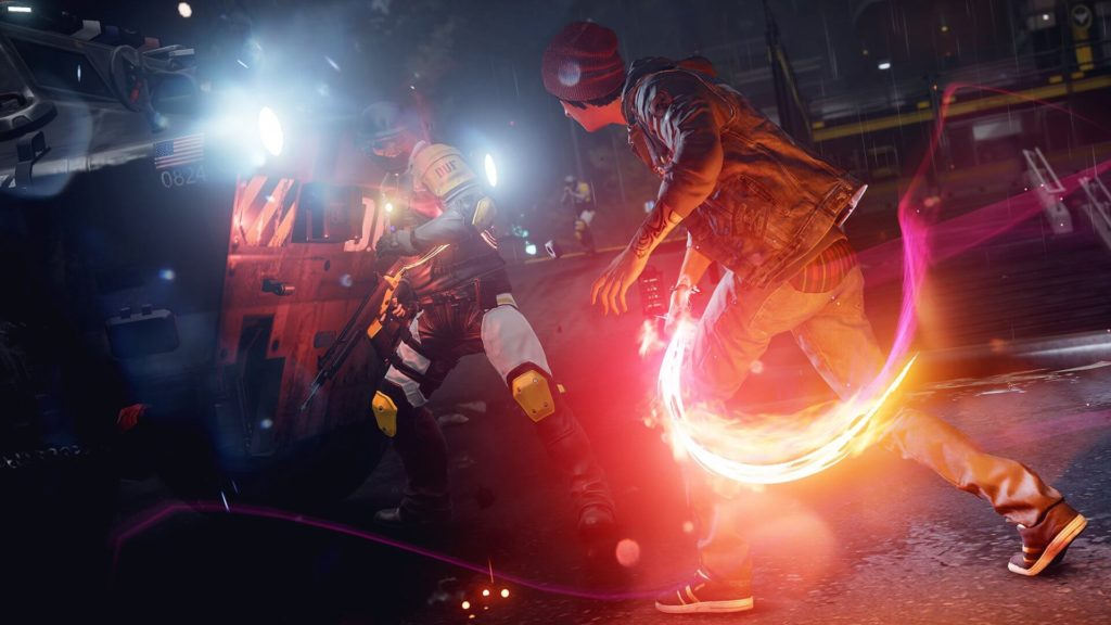 inFAMOUS Second Son PS4 Pro 4K HDR