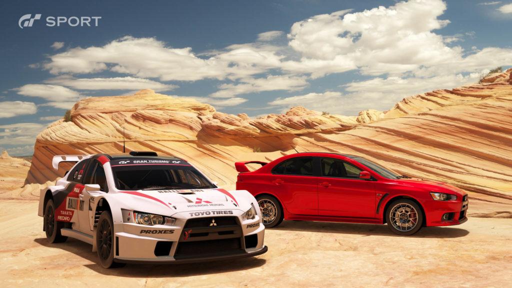 PS4 Pro - GT Sport: Mitsubishi Lancer Evolution