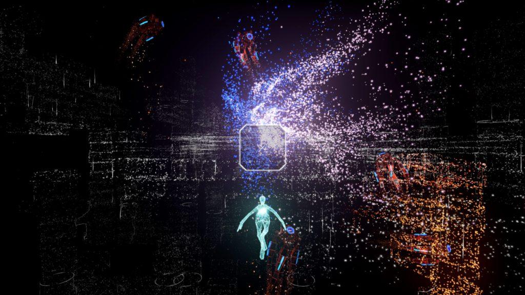 Rez Infinite på PS4 Pro i 4K