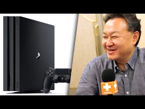 Shuhei Yoshida & PS4 Pro