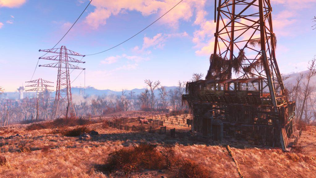 Fallout 4 på PS4 Pro