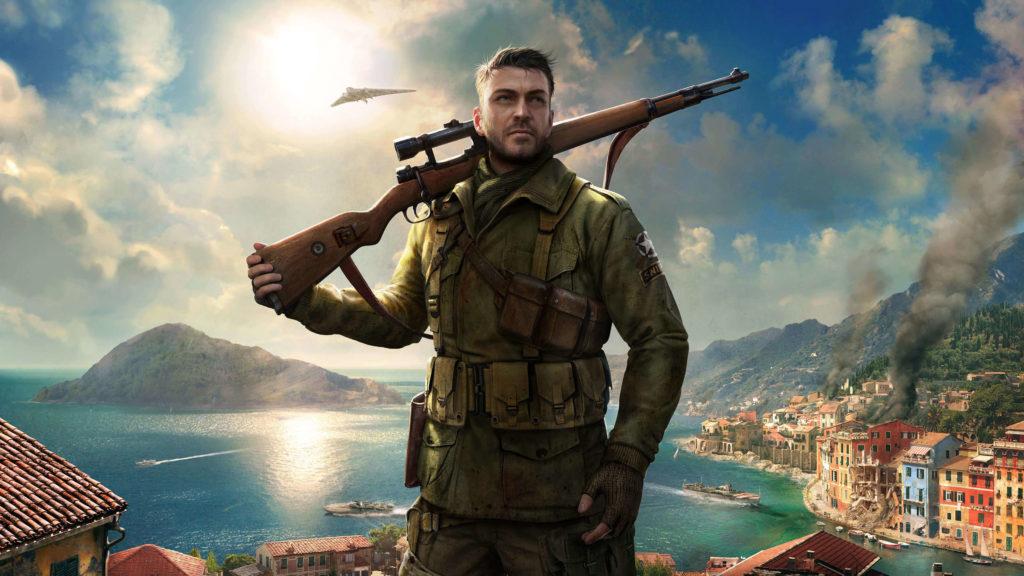 PS4 Pro - Sniper Elite 4 - 4K