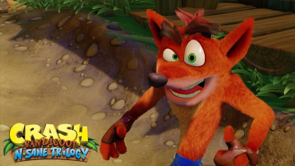 Crash Bandicoot: Nsane Trilogy - PS4 Pro