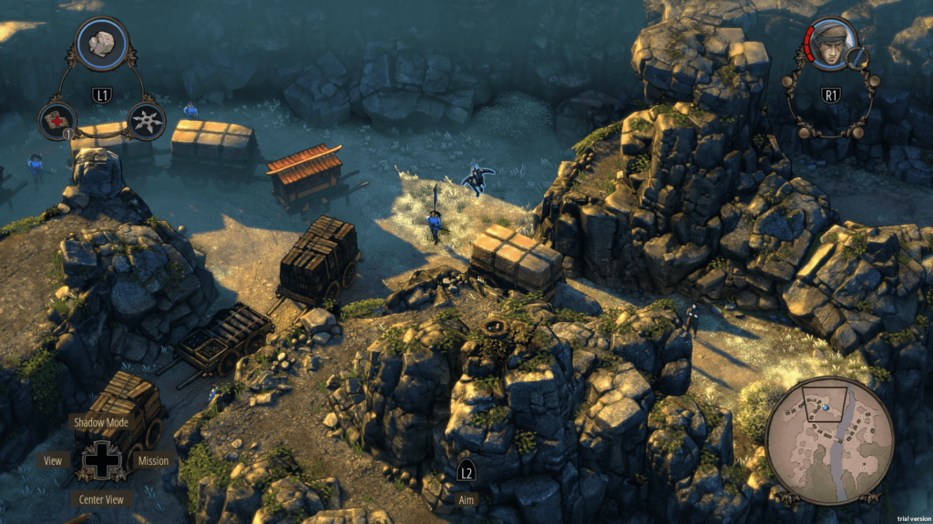 Shadow Tactics - PS4 Pro