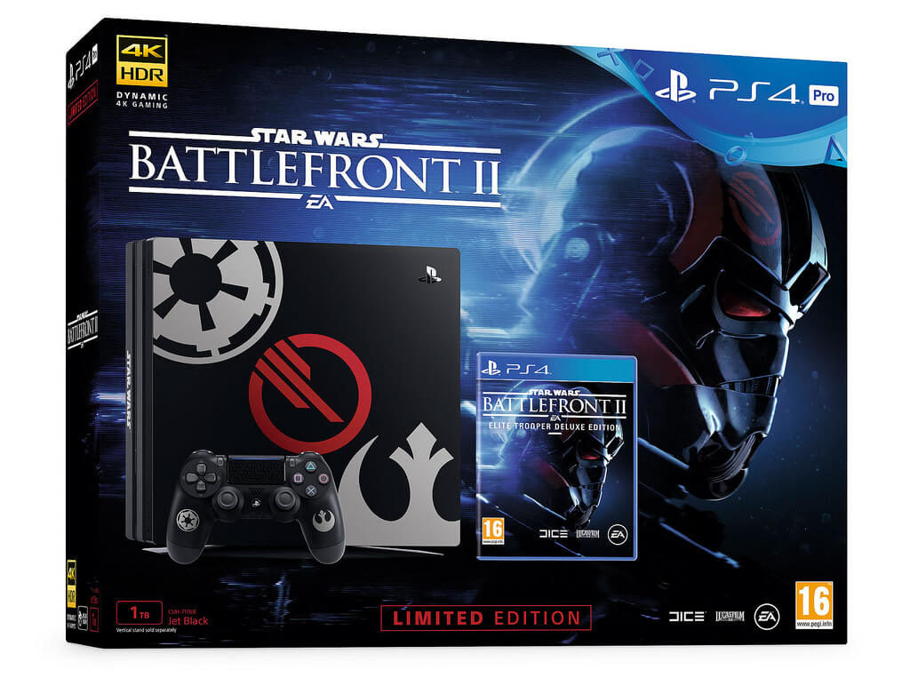 PS4 Pro - Star Wars Battlefront II Retail